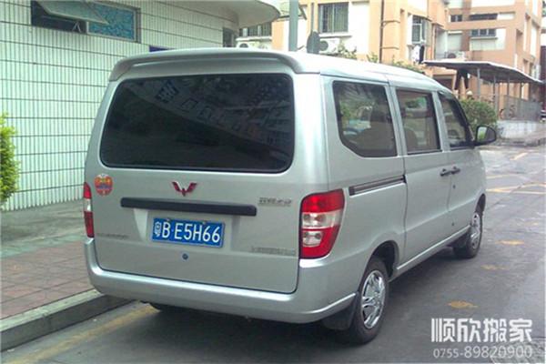 深圳搬家公司面包车