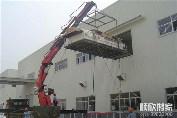 深圳机械吊装