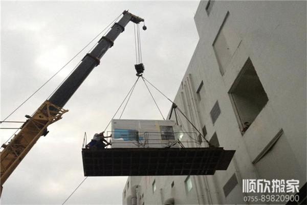 深圳机械设备吊装